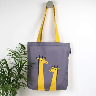 Laura Danby Giraffe Animal Tote Bag