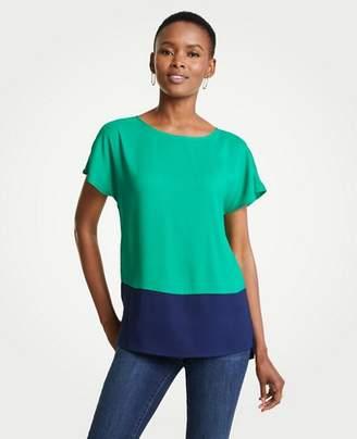 Ann Taylor Colorblock Tunic