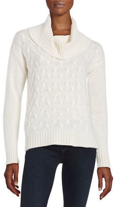 Lord & Taylor Cable Knit Cashmere Sweater $268 thestylecure.com