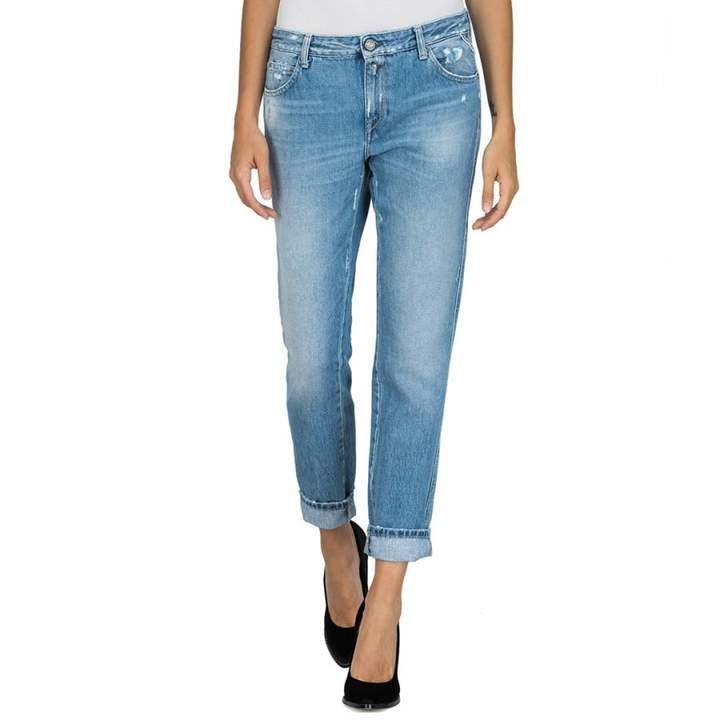 Light Blue Katewin Boy Fit Jeans