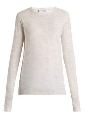 Raey Long-sleeved slubby cotton-jersey T-shirt
