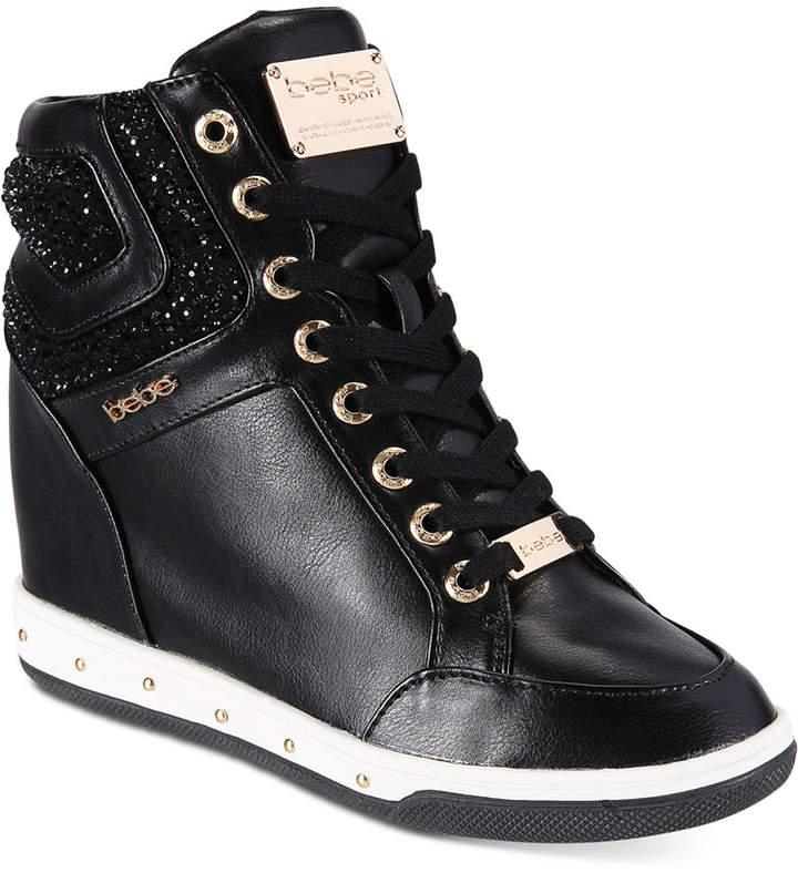 Bebe Cairi Wedge Sneakers Women's Shoes