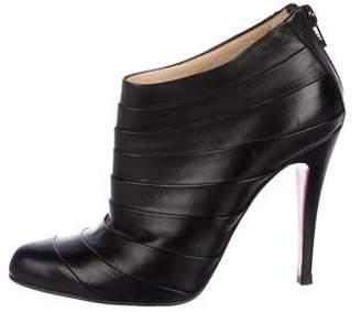 Christian Louboutin Armadillo Leather Booties
