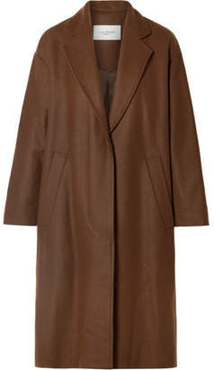 Etoile Isabel Marant Cody Oversized Wool-blend Coat - Brown