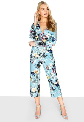 b0432e39afc at Little Mistress · Girls On Film Outlet Tibby Floral Jumpsuit