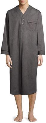 STAFFORD Stafford Men's Solid Flannel Nightshirt