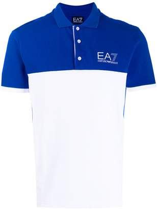 Emporio Armani Ea7 logo sports polo T-shirt