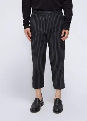 Thom Browne Midrise Slim Fit Pintuck Trouser