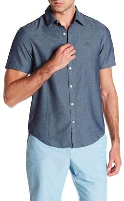 Original Penguin Tic Dobby Short Sleeve Heritage Slim Fit Shirt