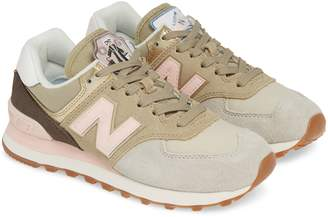New Balance 574 Metallic Patch Sneaker