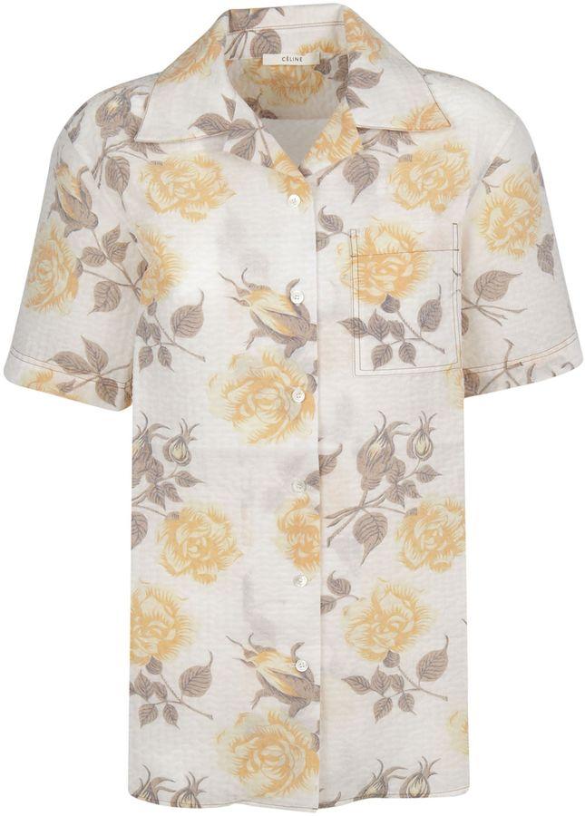 CelineCeline Floral Shirt