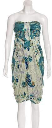 Yigal Azrouel Silk Printed Dress