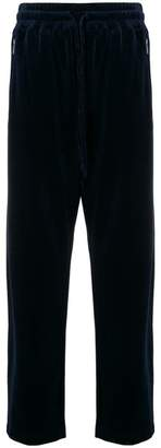 Giorgio Armani straight-leg track pants