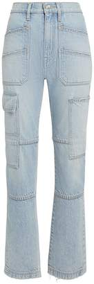 Slvrlake Denim Savior High-Rise Cargo Jeans