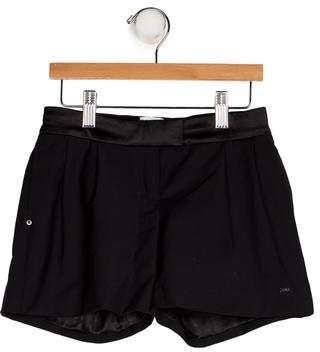 Karl Lagerfeld Girls' Wool-Blend Shorts