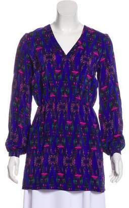 5e397e93a0c67 Pre-Owned at TheRealReal · Amanda Uprichard Printed SIlk Tunic w  Tags
