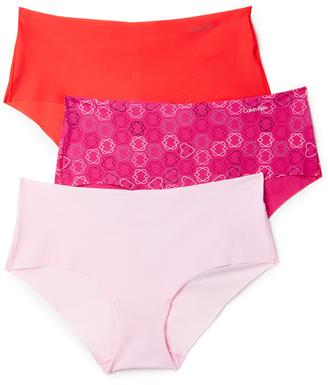 Calvin Klein Underwear Invisibles Hipster 3 Pack $30 thestylecure.com
