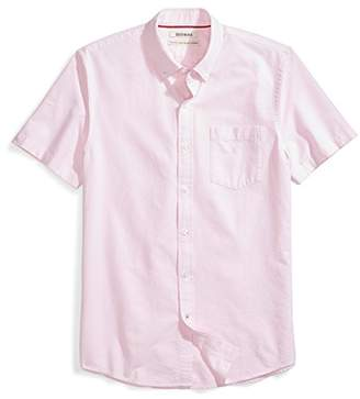 Goodthreads Men's Standard-Fit Short-Sleeve Solid Oxford Shirt with Pocket