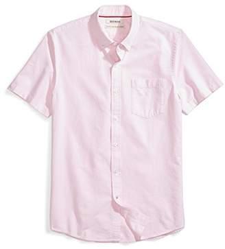 Goodthreads Men's Standard-Fit Short-Sleeve Solid Oxford Shirt w/Pocket