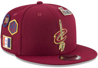 New Era Boys' Cleveland Cavaliers On-Court Collection 9FIFTY Snapback Cap