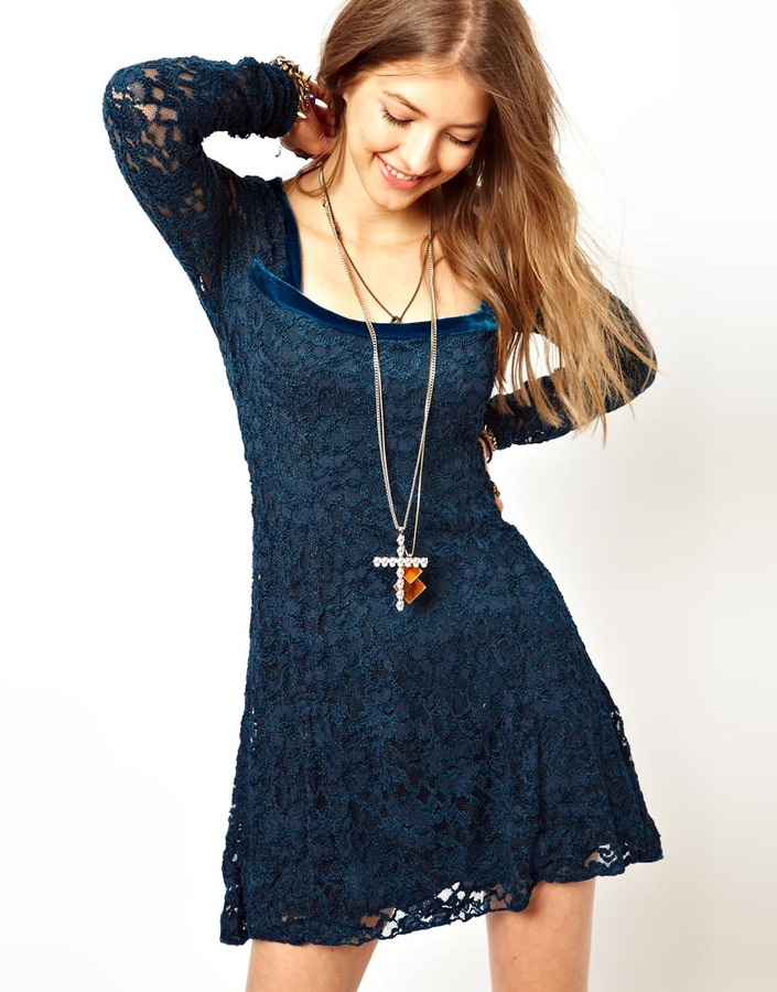 Free People Flirt For You Dress