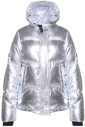 Kenzo Hooded Metallic Puffer Jacket