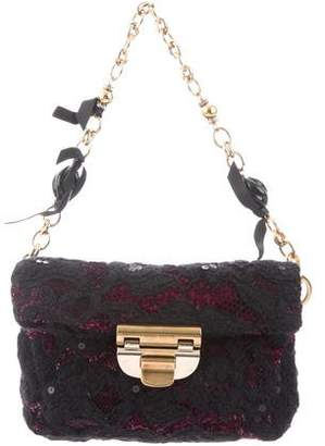 Nina Ricci Lace Handle Bag