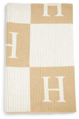 Butterscotch Blankees Personalized Block Cashmere Blanket