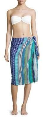 Missoni Fringed Wrap Around Skirt