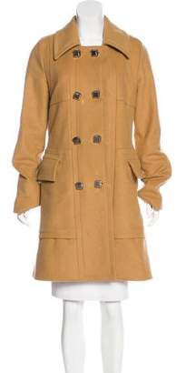 Marc by Marc Jacobs Wool Knee-Length Coat