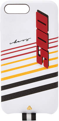 Chaos M'O Exclusive White Leather Speed 500 7/8+ iPhone Case