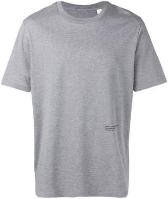 Oamc back photo print T-shirt