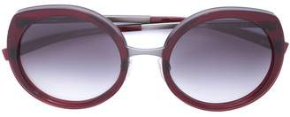 Jil Sander oval sunglasses