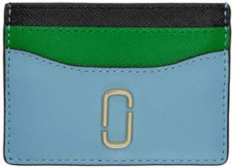 Marc Jacobs Blue Snapshot Card Holder