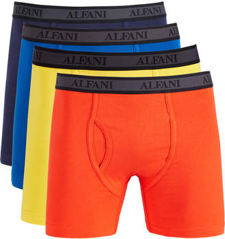 Alfani Men 4 Pk Mesh Boxer Briefs