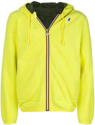 K-Way zipped hoodie