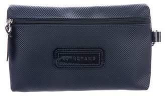 Longchamp Coated Canvas Zip Pouch