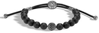 John Hardy Men's Classic Chain Sterling Silver & Onyx Bead Bracelet