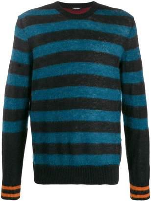 Diesel striped pullover