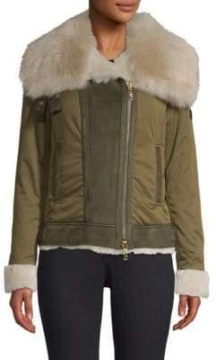 Bogner Raffi Fur-Trim Jacket