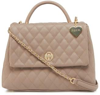 Marc B Taupe 'Olivia' Quilted Grab Bag
