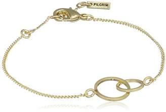 Pilgrim Women Gold Plated Strand Bracelet - 141622002