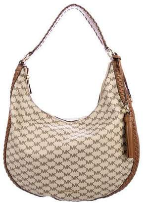 Michael Kors Lauryn Large Monogram Hobo