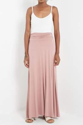 Soprano Soft Mauve Maxi-Skirt