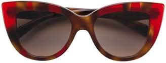Valentino Eyewear Garavani cat eye sunglasses
