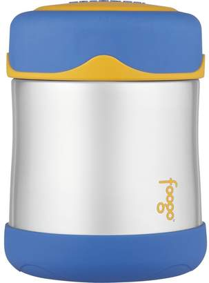 Thermos FOOGO Vacuum Insulated Stainless Steel 10-Ounce Food Jar, /Yellow