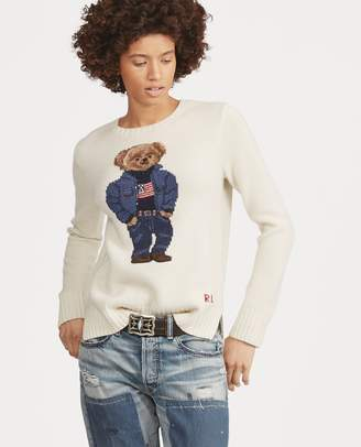 Ralph Lauren Polo Bear Wool-Blend Sweater