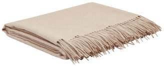 Simple Things Natural Wool Throw (180cm x 130cm)
