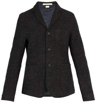 Massimo Alba Quilted Lining Yak Wool Jacket - Mens - Charcoal