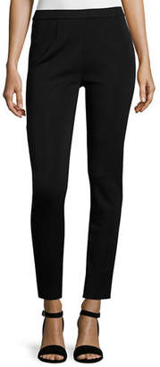 Misook Slim-Leg Pull-On Pants $208 thestylecure.com